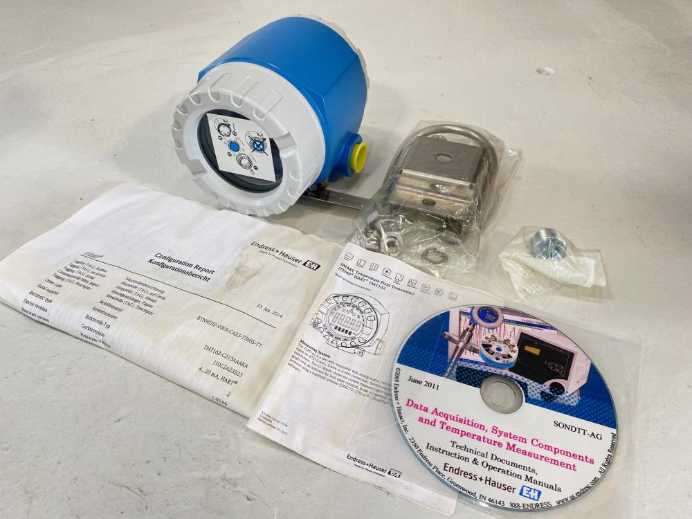 Endress Hauser iTemp TMT162 Smart Temperature Field Transmitter TMT162-C213AAAKA