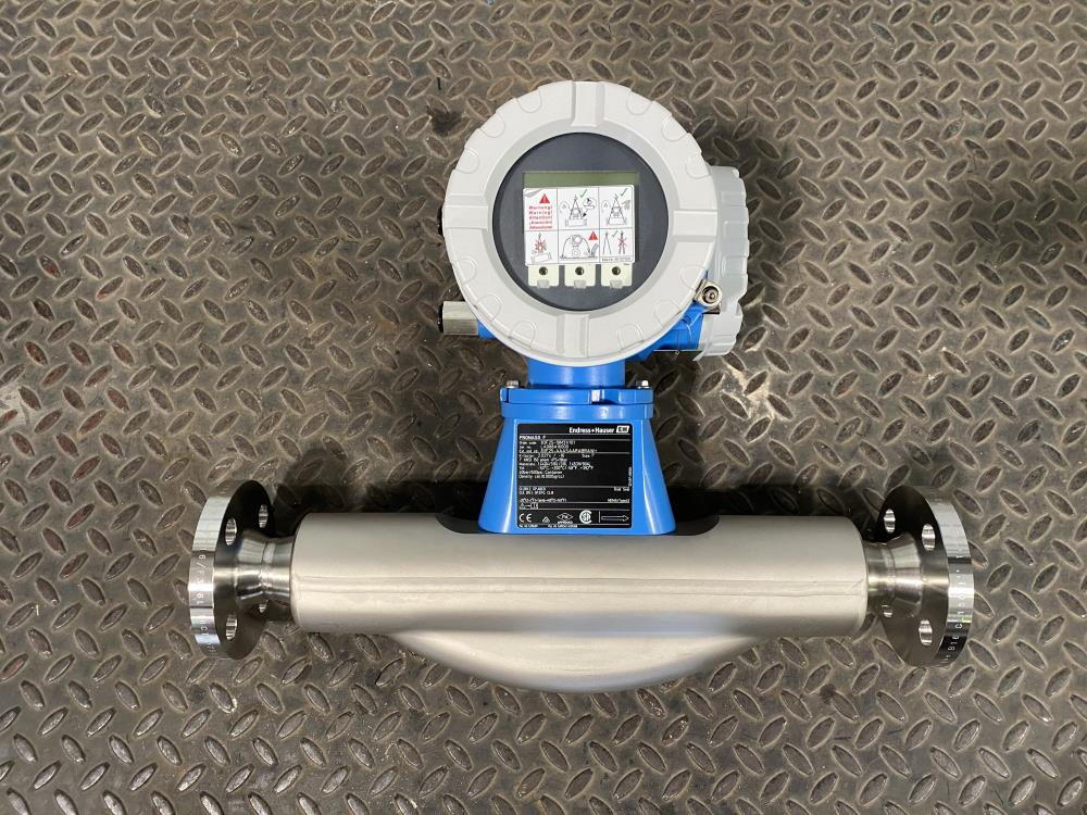"Endress Hauser 1"" 150# 316SS Promass F Coriolis Flowmeter 83F25-19M31/101"