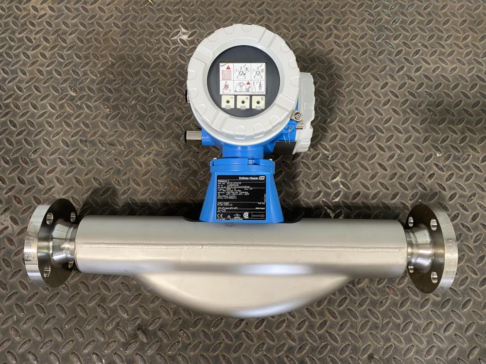 "Endress Hauser 1-1/2"" 150# 316SS Promass F Coriolis Flowmeter 83F40-UKT9/101"