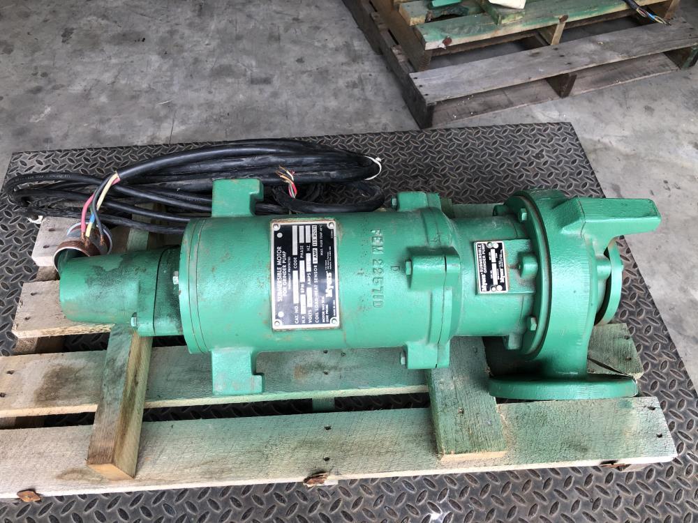 Myers Submersible Grinder Pump WG75H-43 w/ Motor
