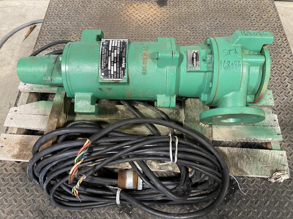 Myers Submersible Grinder Pump, Model WG50-43-25 w/ Motor