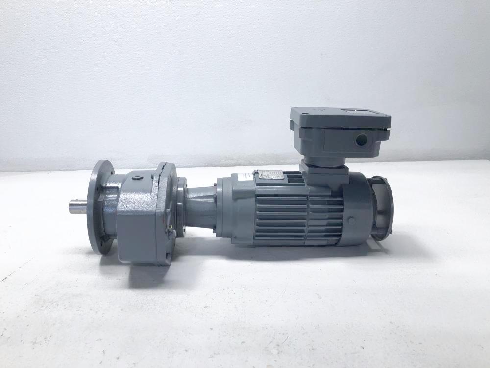 Carl Rehfuss Albstadt Gearbox SR230F-IEC71L/6 & ATAV .25KW Motor F71-2GBTU/C6