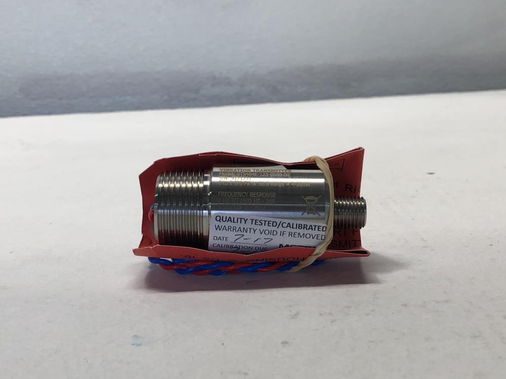 Metrix Seismic Vibration Transmitter Model ST5484E-123-0080-00