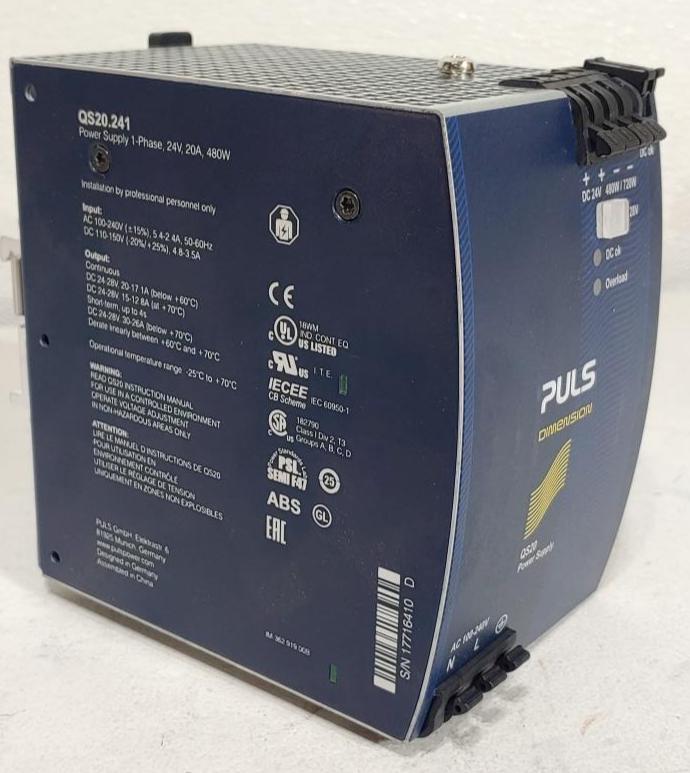 PULS Dimension Power Supply Model QS20-241