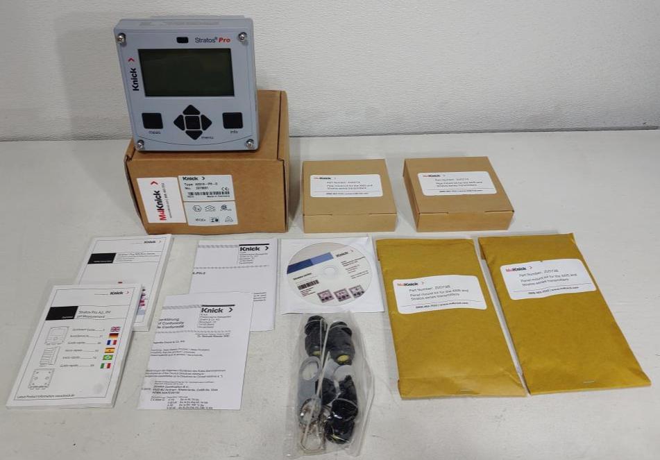 Knick Analyzer Transmitter Stratos Pro A201X-PH-0