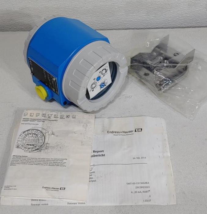 Endress Hauser SMART Temperature Field Transmitter Model TMT162-C213AAAKA