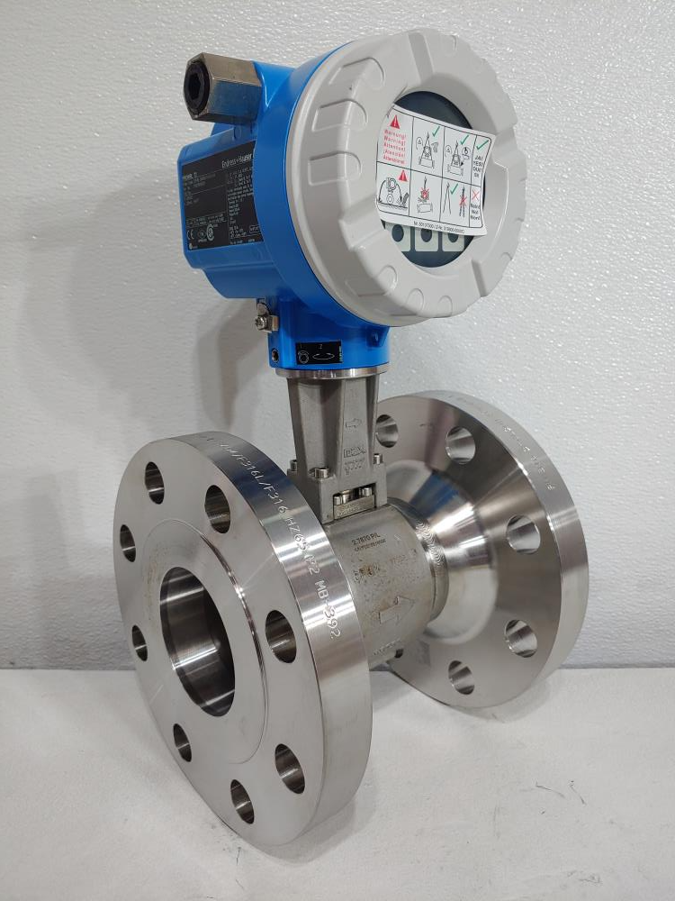 """Endress Hauser Prowirl F 3"""" 300# Stainless Flow Meter 72F80-SM0BA1NAB4AW"""