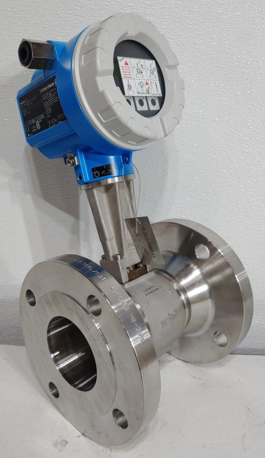 """Endress Hauser Prowirl F 3"""" 300# Stainless Flow Meter 73F80-SK4AA1NAB4AW"""