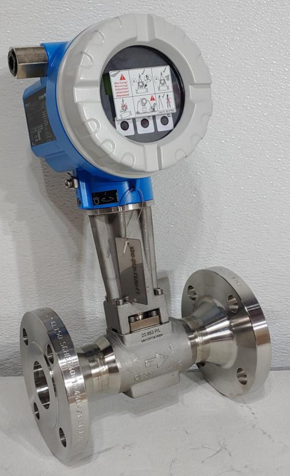 """Endress Hauser Prowirl F 1-1/2"""" 150# Stainless Flow Meter 72F40-SK1AA1NAB4AW"""