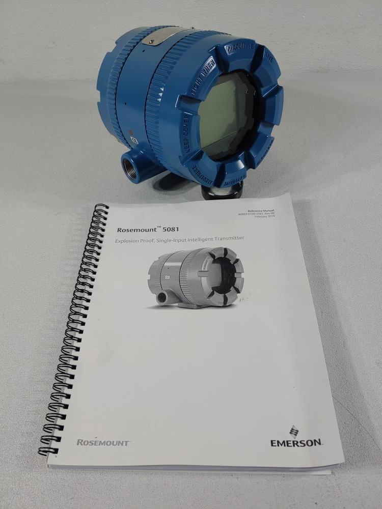 Rosemount 5081-P-HT-67 Smart 2-Wire Microprocessor Transmitter