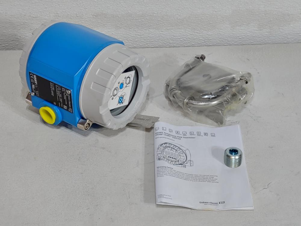 Endress Hauser iTemp TMT162 Smart Temperature Field Transmitter TMT162-F21331BKE