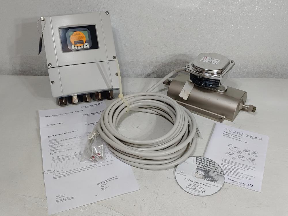 Endress Hauser Promass A Corilois Mass Flow  Metering System