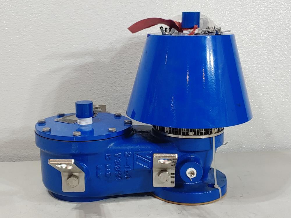 """Valve Concepts 2"""" 150# WCB Vacuum Pressure Relief Vent Valve 3102CBA00000000000"""
