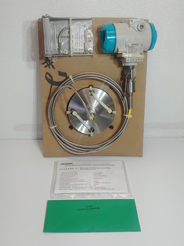 SIEMENS SITRANS P DIFFERENTIAL PRESSURE TRANSMITTER 7MF4235-1GY10-1NC7-Z