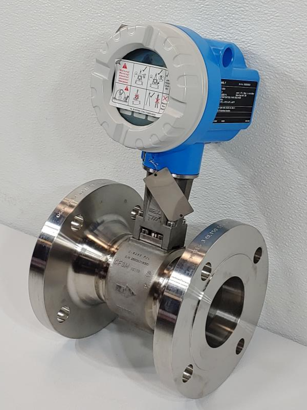 """Endress Hauser Prowirl F 3"""" 150# Stainless Flow Meter 72F80-SK0BA1NAB4AW"""