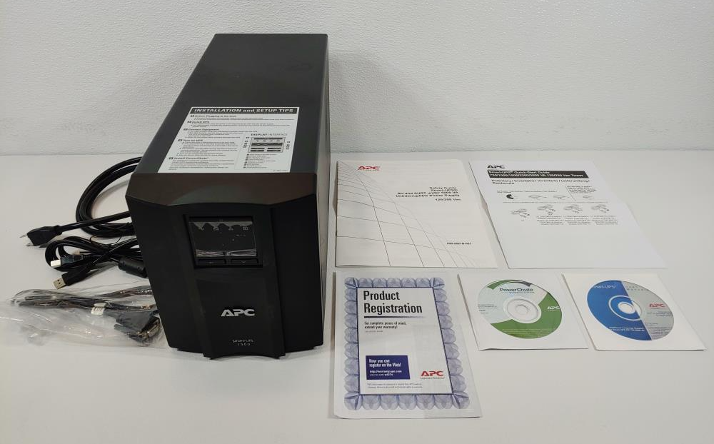 APC Smart-UPS 1000/1500VA Uninterruptible Power Supply SMT1500