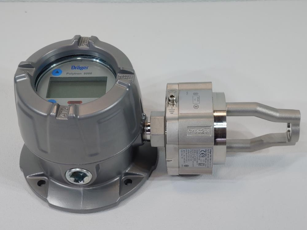 Drager Polytron 8700 Infrared Transmitter Flammable Gas Detection