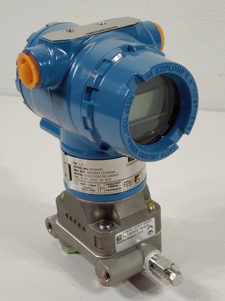 Rosemount Pressure Transmitter Model 3051CD3A33A1AM5E5