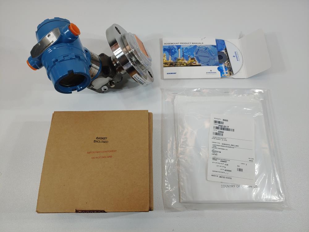 "Rosemount 2"" 150# 316L Level Transmitter Model 3051L2AH0XD11AAE5M5F9SJ"