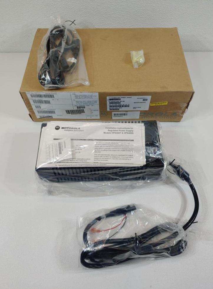 Motorola Regulated Power Supply Kit Model HPN4007C