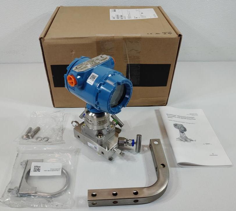 Rosemount Pressure Transmitter Model 3051S1CD2A2A11A1ADA2E5M5