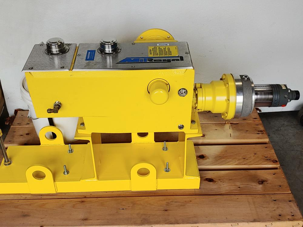 Milton Roy Metering Pump Model MBH8GCBPNST11