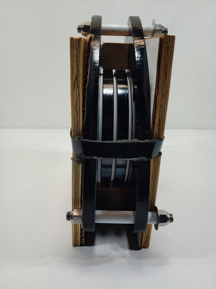 "Ethylene Flexijoint PTFE Expansion Joint Bellows 6"" Model 6-DOBA-3-H4S"