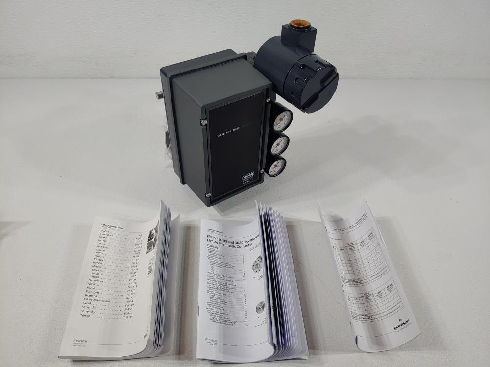 Fisher 3600 Control Valve Positioner Type 3620J