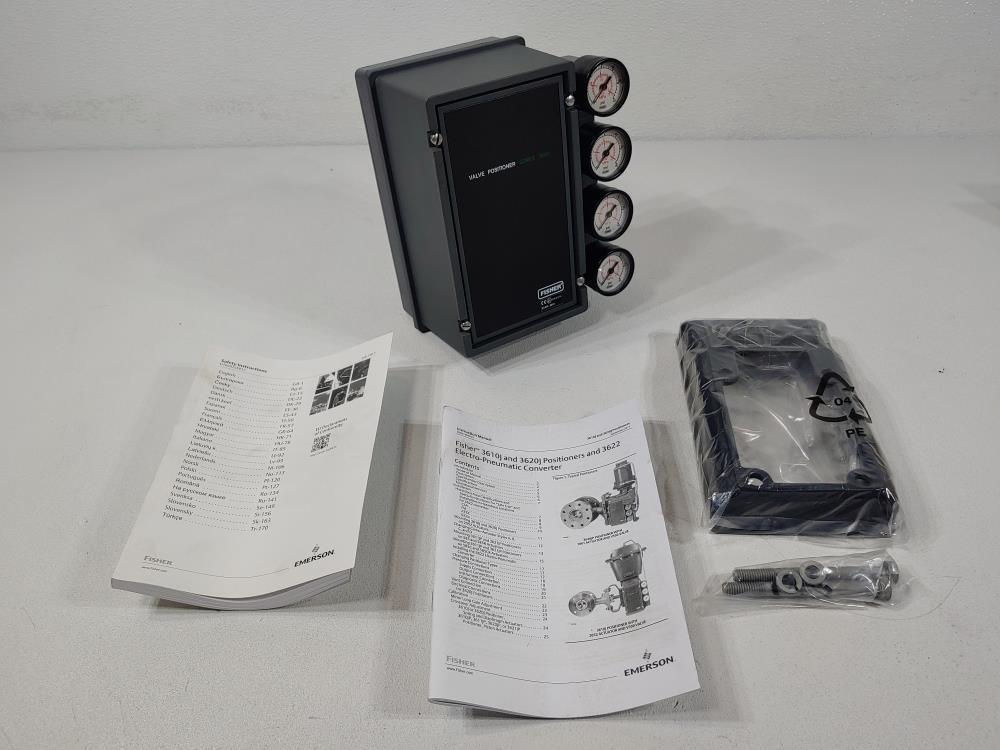 Fisher 3600 Control Valve Positioner Type 3610J