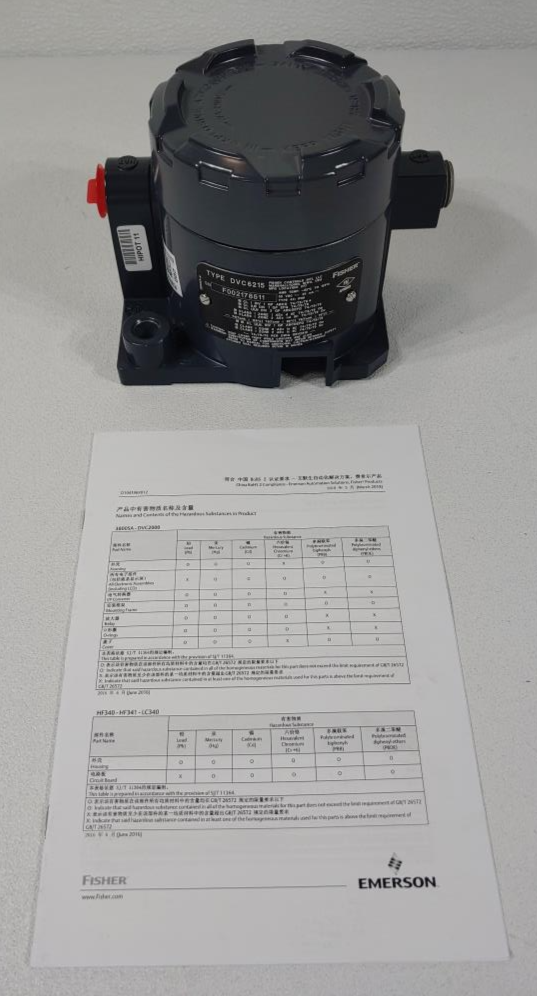 Fisher DVC6200 Valve Controller Feedback Unit Type DVC6215