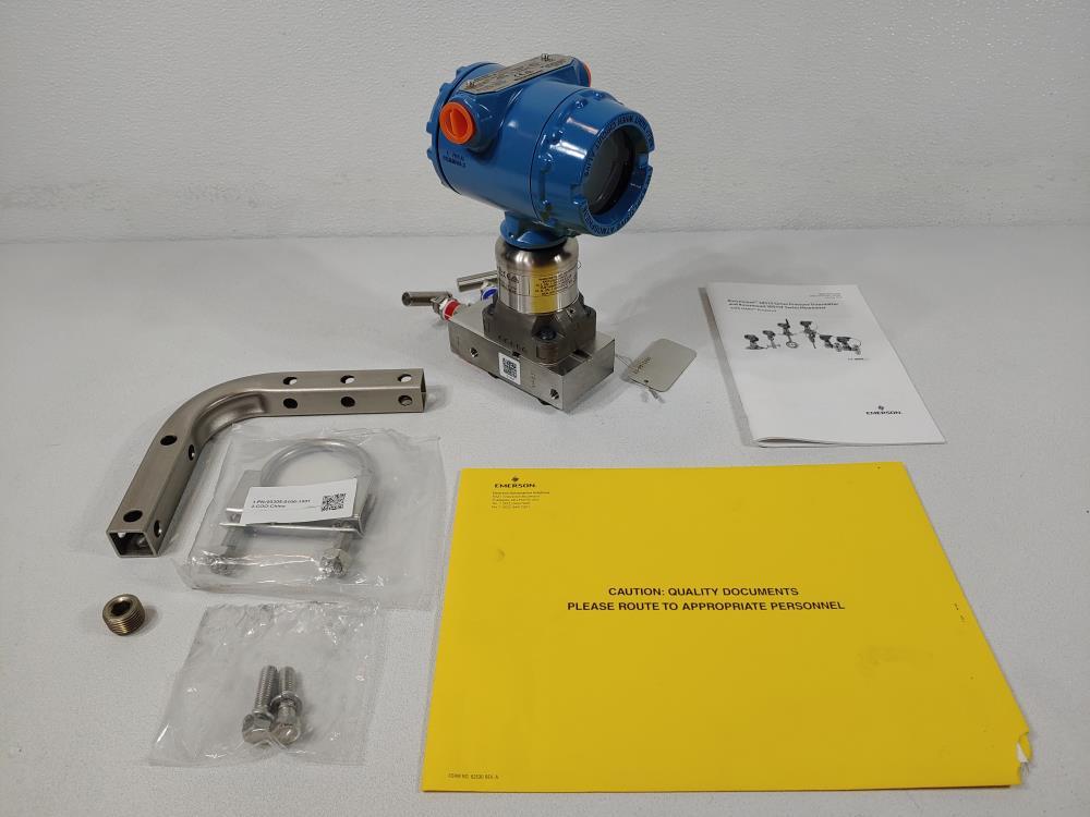 Rosemount 3051 Smart Pressure Transmitter 3051S1CG1A2A11A1AE5L2M5Q8