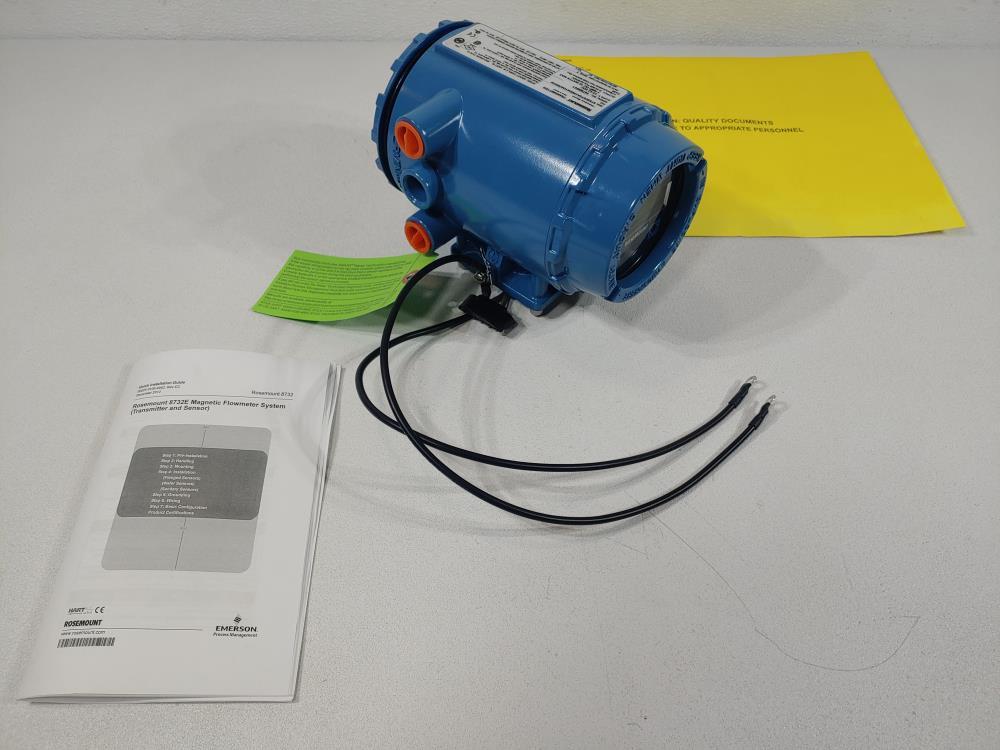 Rosemount 8732E Magnetic Flowmeter Transmitter Model 8732EST2A1N0DA2M4Q4