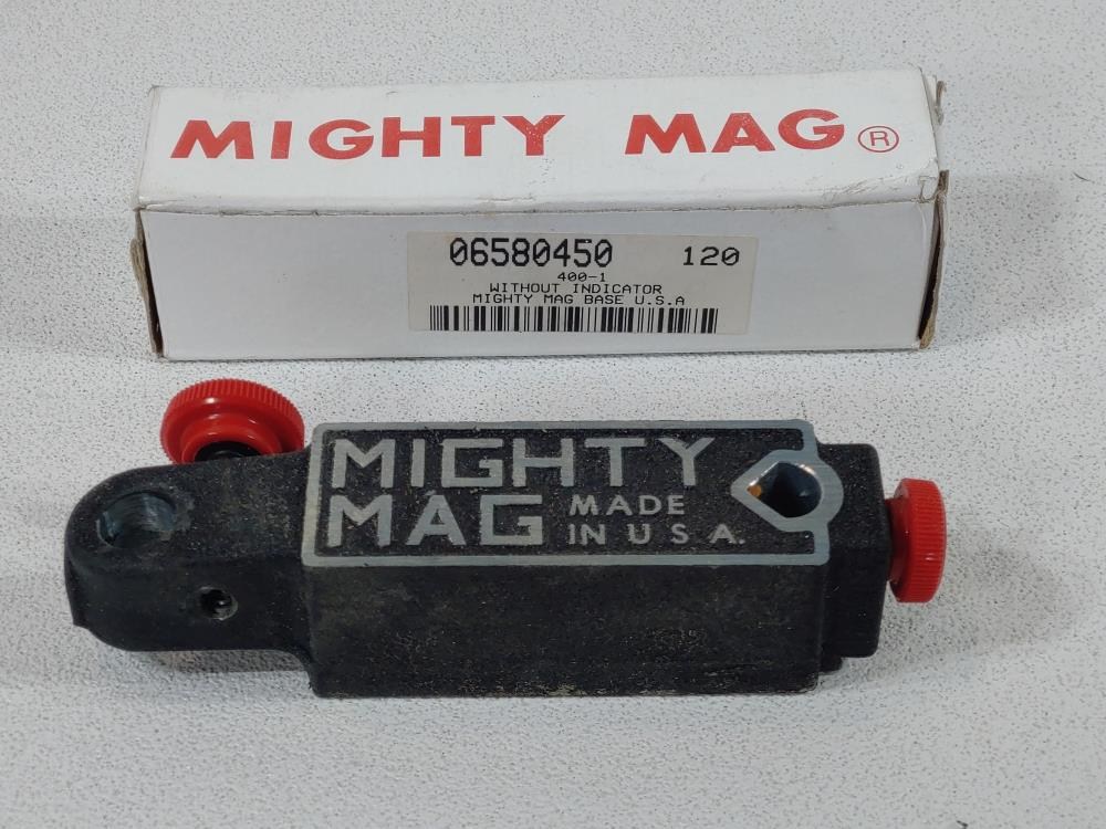 Lot of (12) Mighty Mag 400-1 Universal Magnetic Base