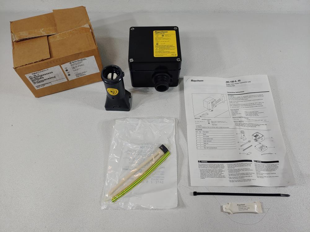 Raychem Tyco Power Connection Kit W/ Junction Box Catalog# JBS-100-A