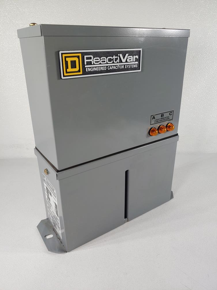 Square D ReactiVar Power Factor Correction Capacitor 3 Phase, 480 Volt PFCD4005F