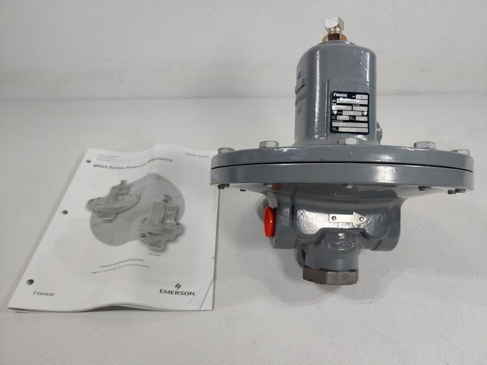 "Fisher 3/4"" WCC MR95L Pressure Regulator"