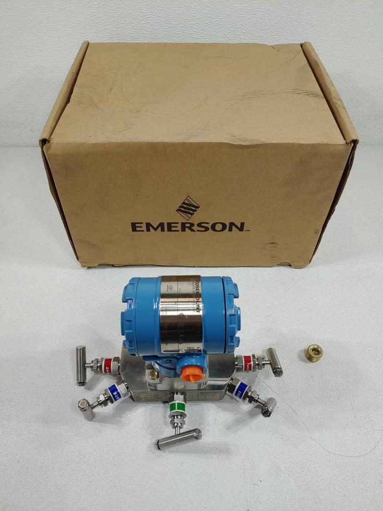 Rosemount 2051 Pressure Transmitter Model# 2051CD3A02A1AS5E5