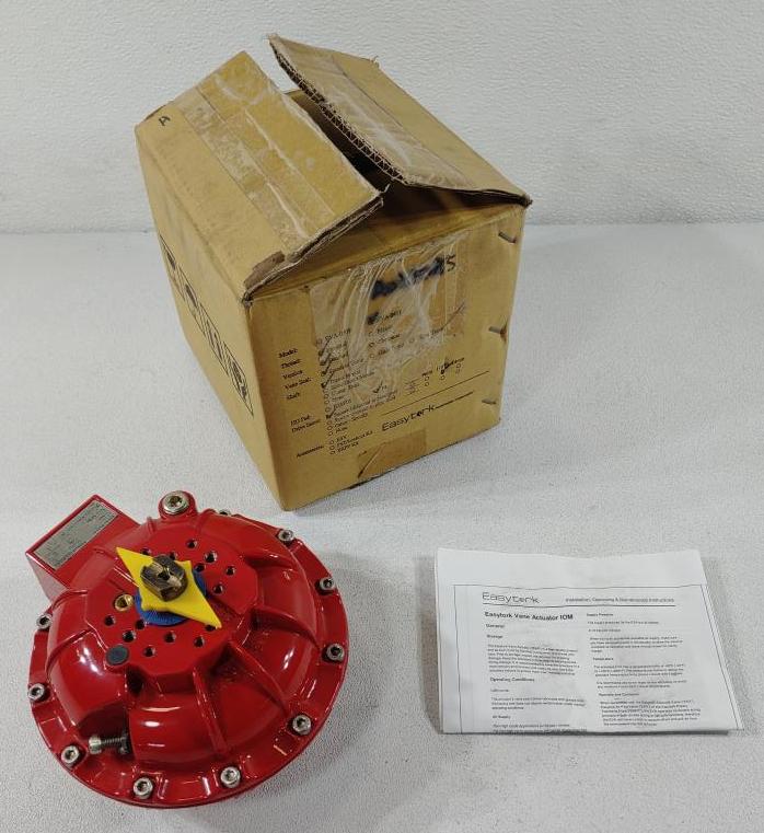 Easytork Double Acting Vane Actuator Model# EVA-0411