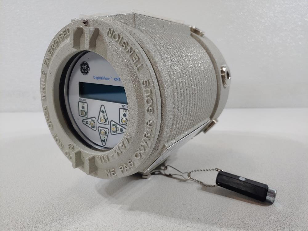GE DigitalFlow XMT868i Panametrics Ultrasonic Liquid Flow Transmitter
