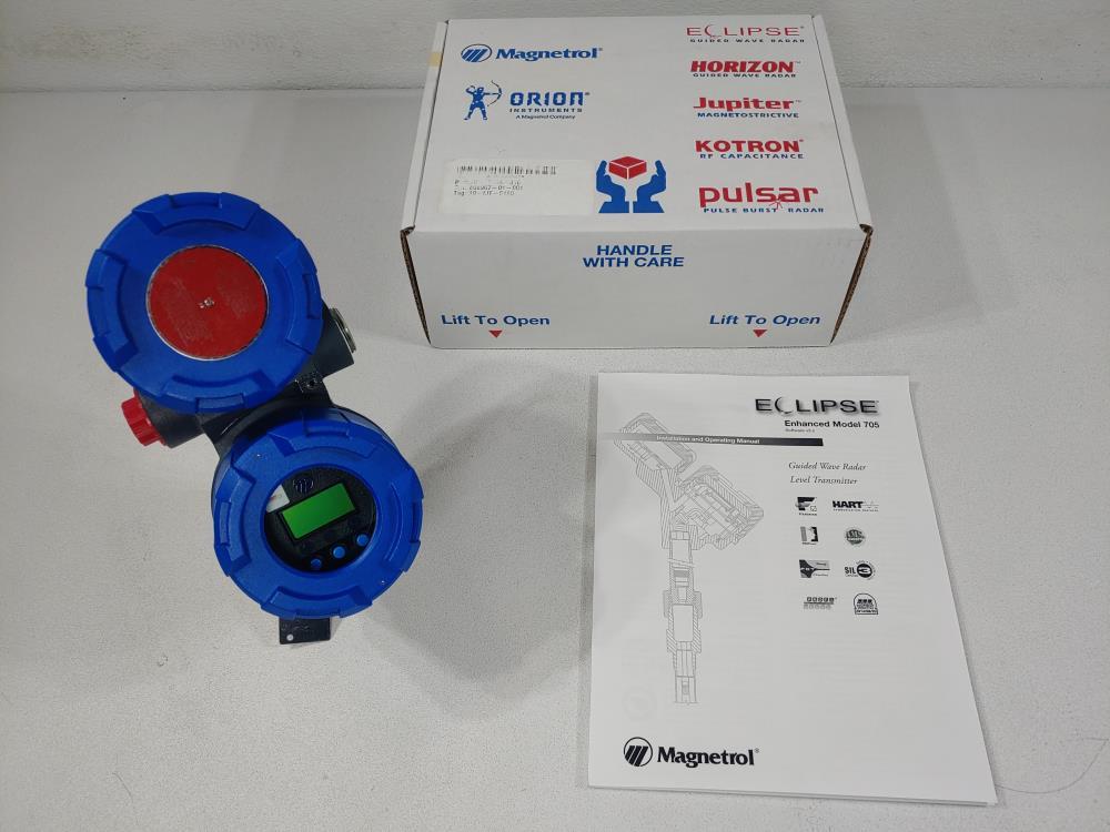 Magnetrol Eclipse Enhanced Guided Wave Radar Level Transmitter 705-510A-310