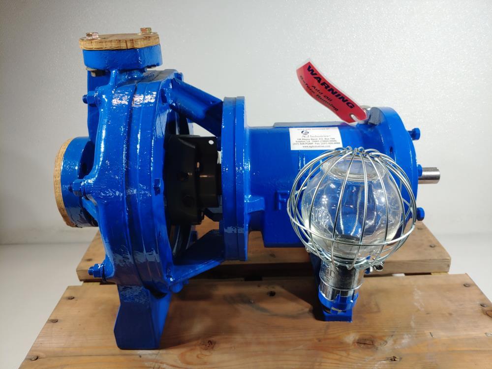 "Fybroc Division Teleford 1""x2""x10"" Centrifugal Pump Model 1500"