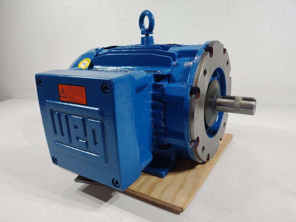 WEG 5 HP /3.7 Kw 1750/1435 RPM 182/4TC FRAME Electric Motor Model 00518XT3E184TC
