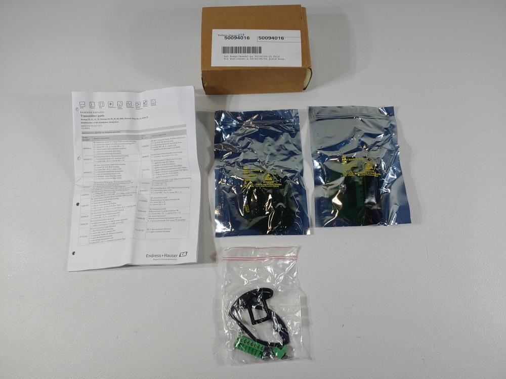 Endress Hauser Kit Bus/Connec.b.5X/40/8X/65 Field Hous. 50094016