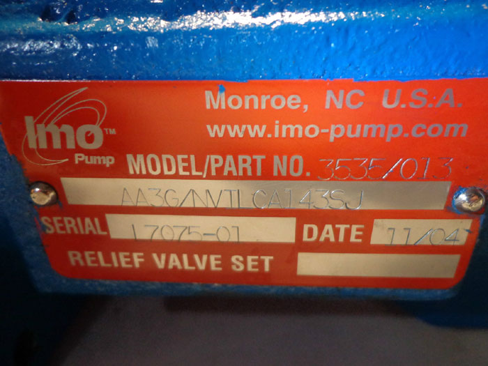 IMO PUMP 3535/013