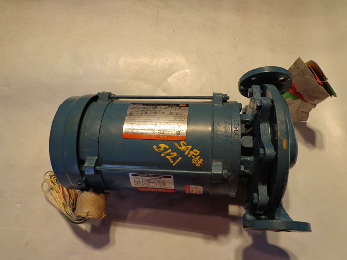 DEANLINE PUMP 100423 EJ w/ RELIANCE ELECTRIC 2HP MOTOR B77V0363P-HD