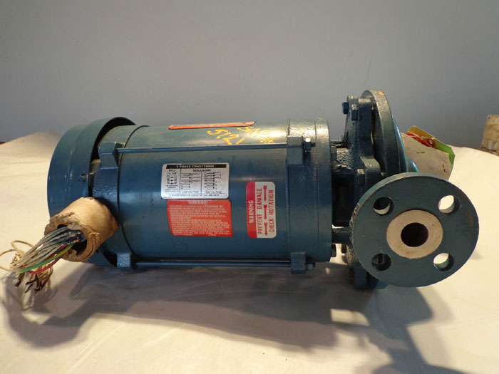 DEANLINE PUMP 100423 EJ w/ RELIANCE ELECTRIC 2HP MOTOR B77V0363P-HD