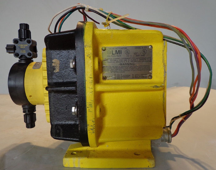 Outstanding Milton Roy Lmi Pump E711 363 Ti Or E701 94S Available Wiring Digital Resources Bioskbiperorg