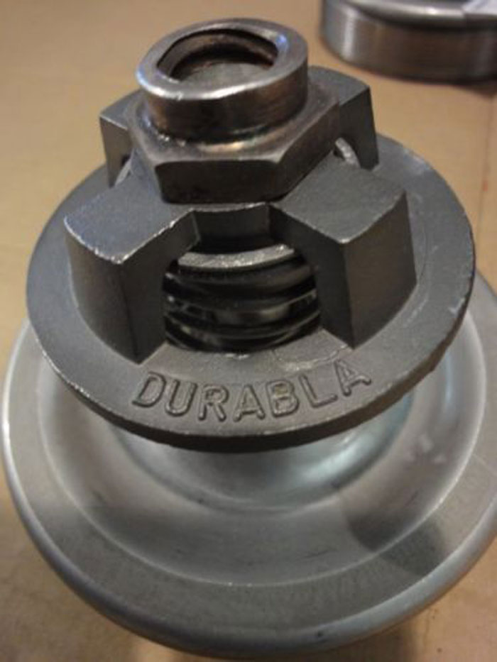 "LOT OF (8) DURABLA 4.5"" UNION STEAM PUMP PARTS 316 STAINLESS STEEL"