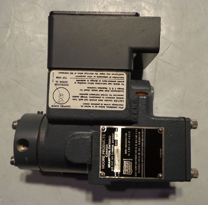 DEVAR ELECTRIC TO AIR CONVERTER TYPE 18-150-1 w/ MOORE TRANSMITTER