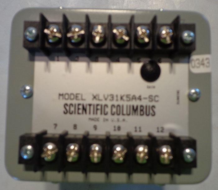 SCIENTIFIC COLUMBUS EXCELTRONIC VAR TRANSDUCER XLV31K5A4